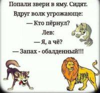 Анекдот Про Льва И Зайца