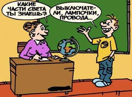 анекдоты про школу очень смешные до слёз