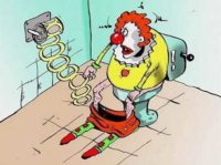 анекдоты про клоуна