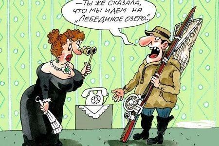 анекдоты про театр