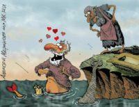 анекдоты про золотую рыбку АА