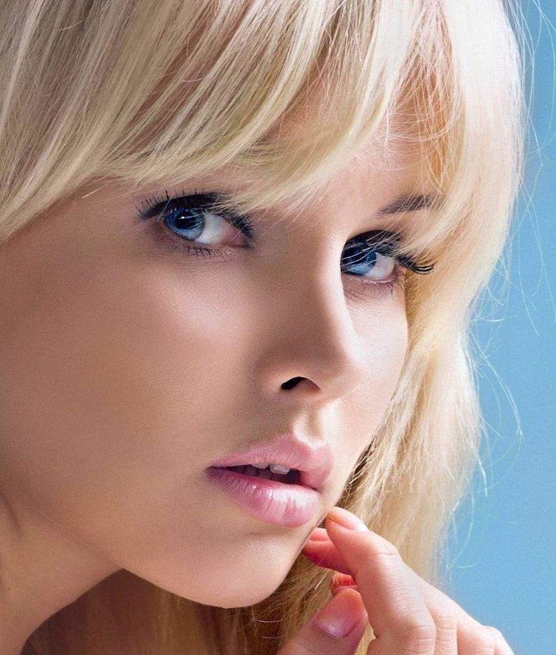лица красивых девушек (2)
